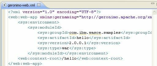 USING ECLIPSE XML