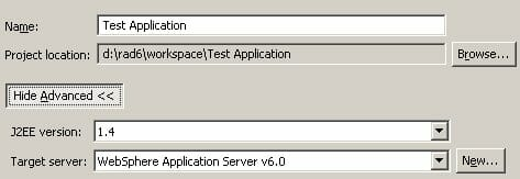 Basic J2EE Development Using Rational Application Developer