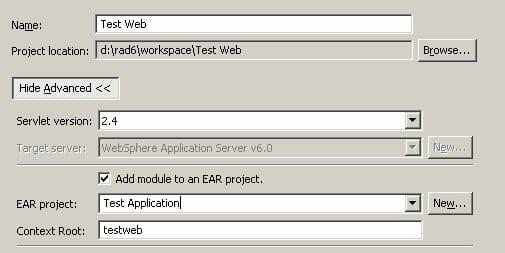 Basic J2EE Development Using Rational Application Developer