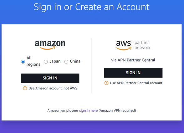 Amazon AWS Certification Account
